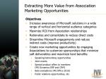 extracting more value from association marketing opportunities1