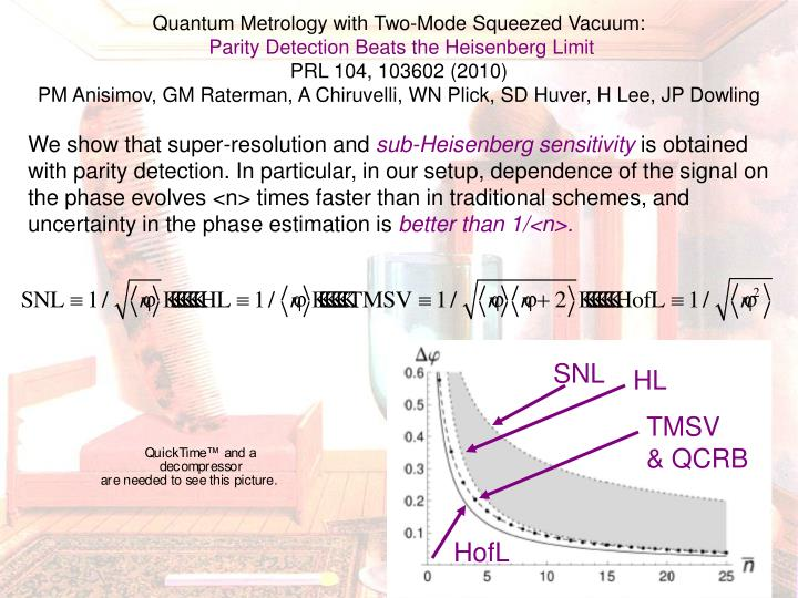 Quantum Metrology with Two-Mode Squeezed Vacuum: