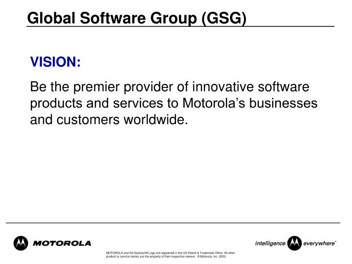 Global Software Group (GSG)