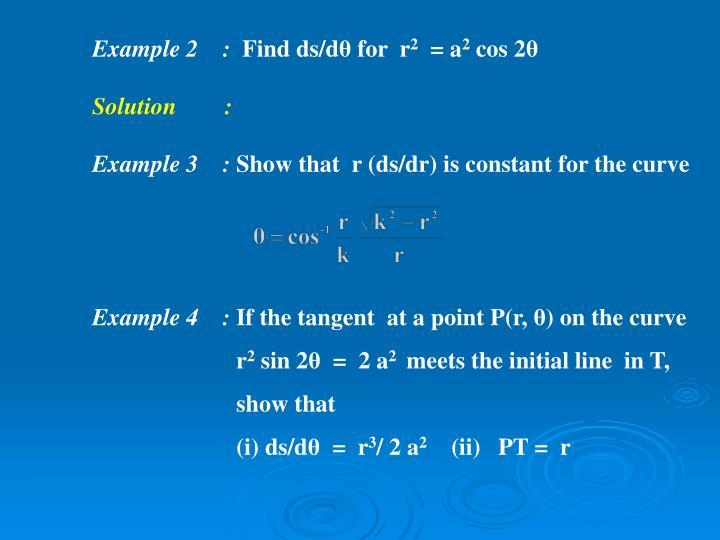 Example 2    :