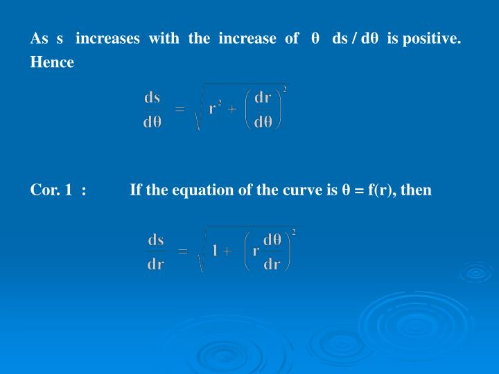 As  s   increases  with  the  increase  of