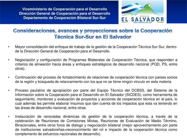 Viceministerio de Cooperación para el Desarrollo