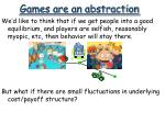 games are an abstraction2
