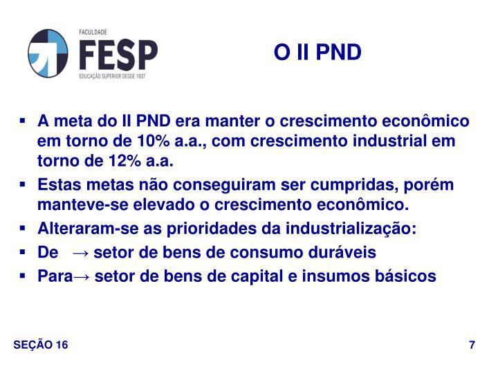 O II PND