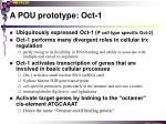 a pou prototype oct 1