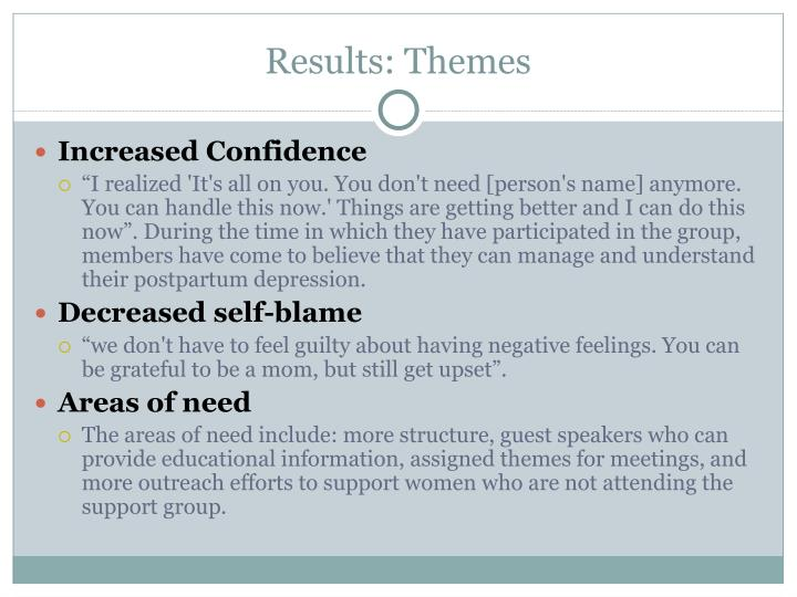 Results: Themes