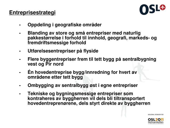 Entreprisestrategi