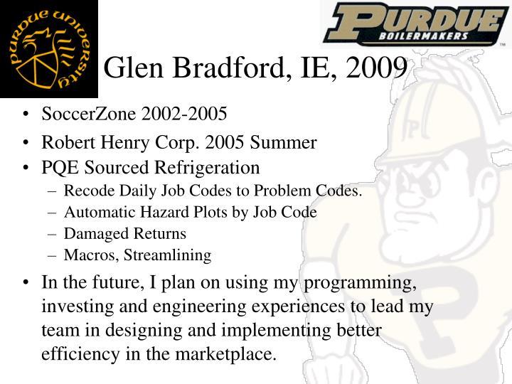 glen bradford ie 2009 n.