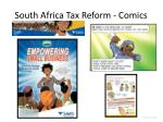 south africa tax reform comics