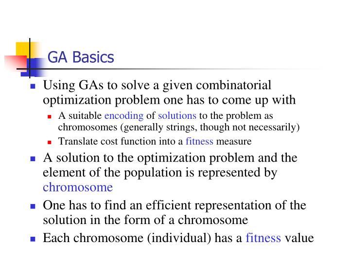 GA Basics