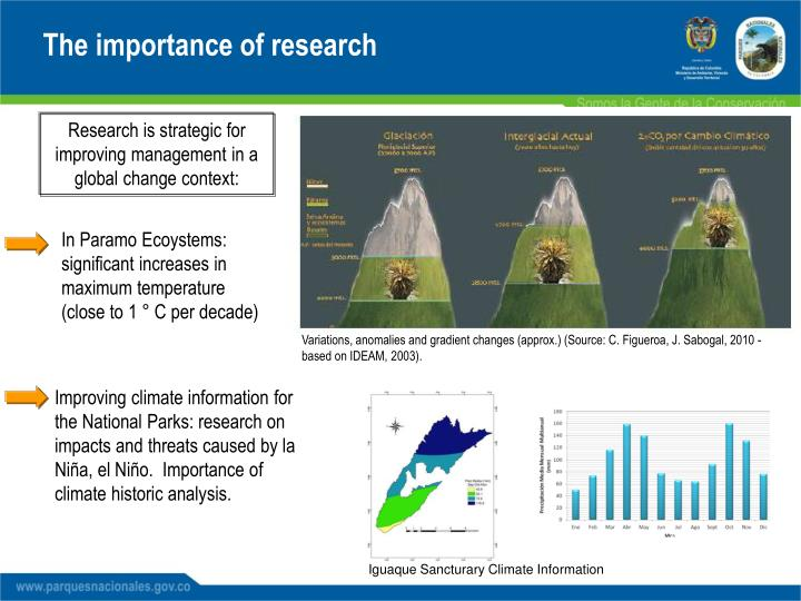 The importance of research