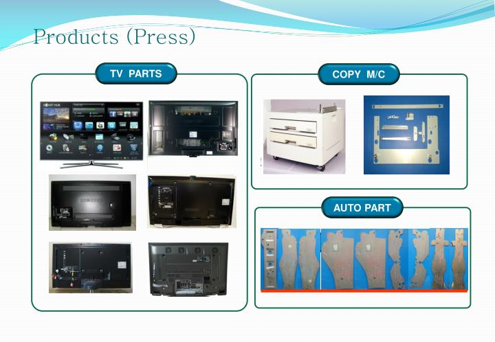 Products (Press)