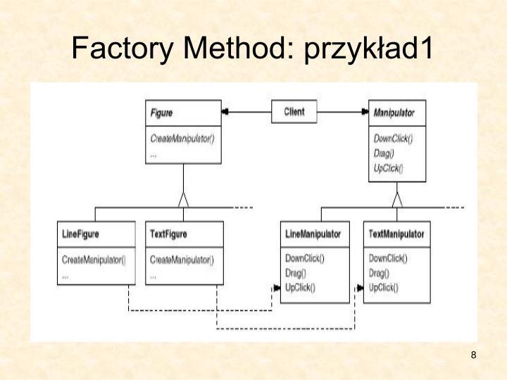 Factory Method: przykład1
