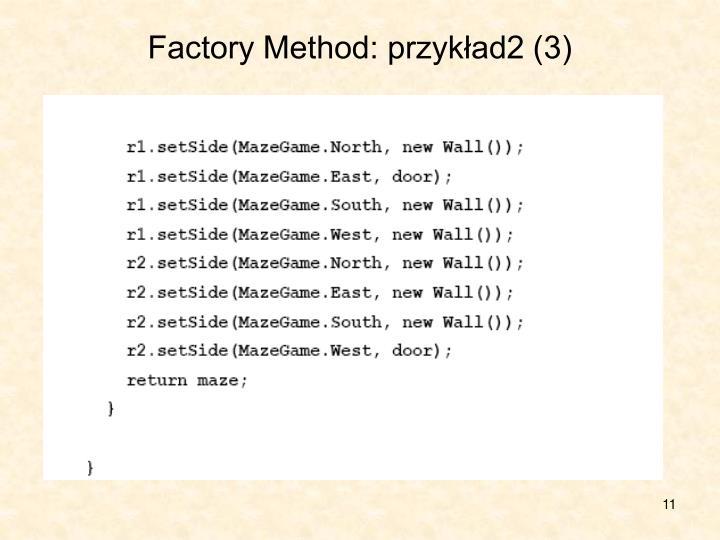 Factory Method: przykład2 (3)