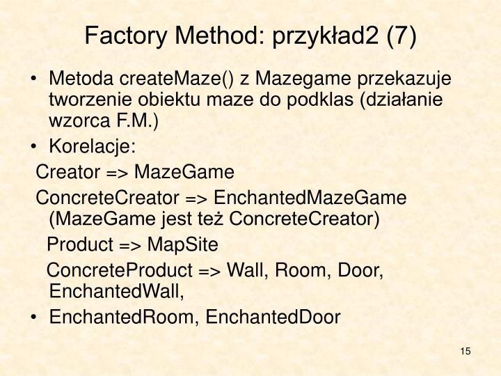 Factory Method: przykład2 (7)