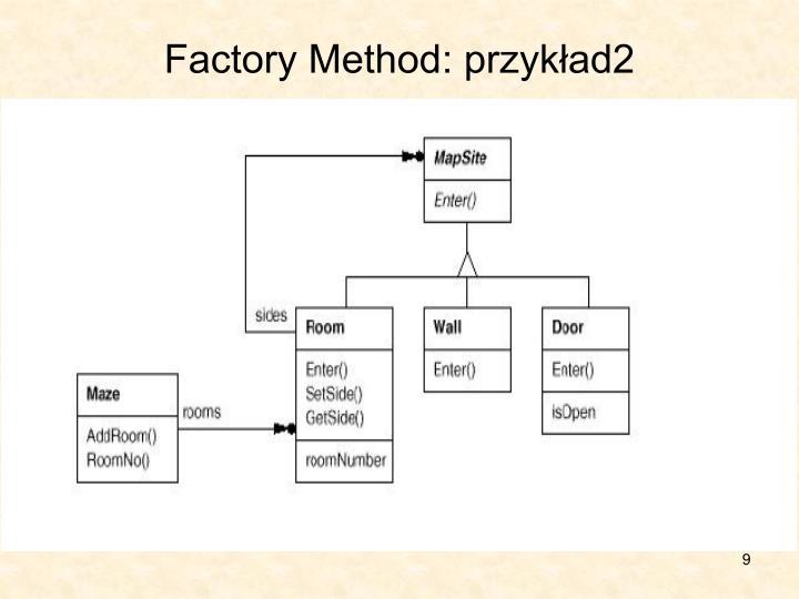 Factory Method: przykład2