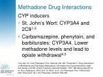 methadone drug interactions3