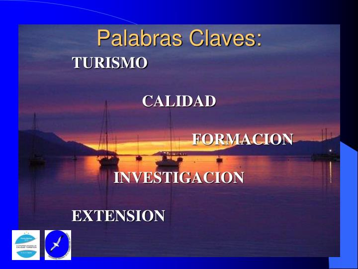 Palabras Claves: