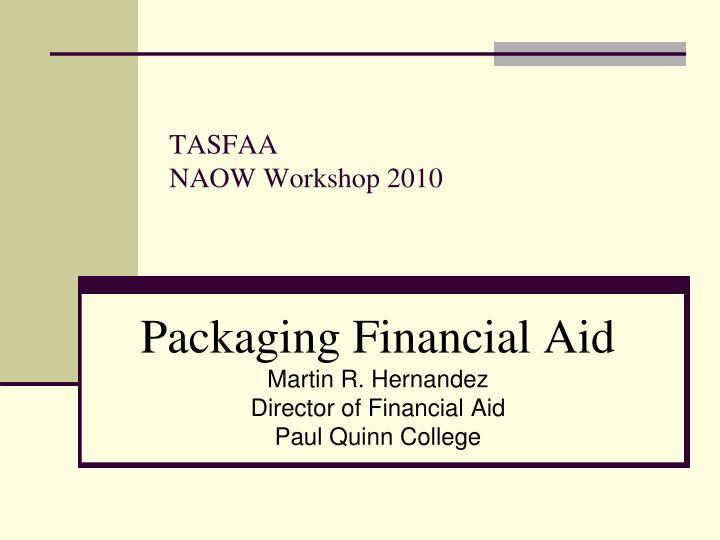 tasfaa naow workshop 2010 n.