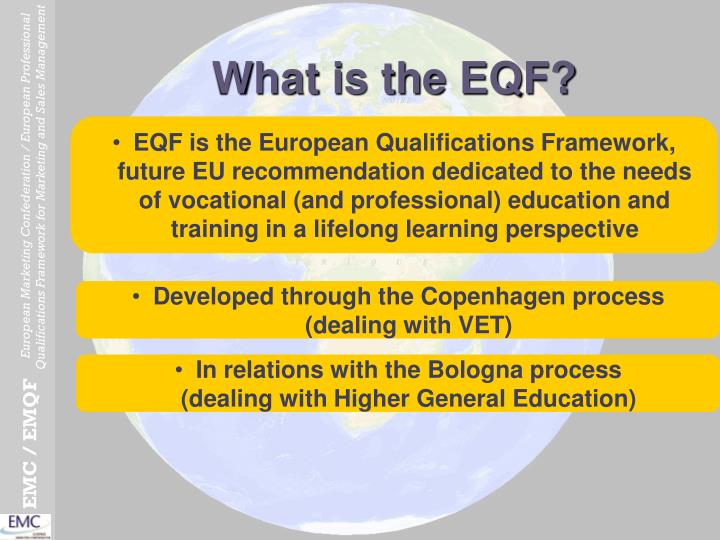 What is the EQF?