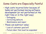 some costs are especially painful