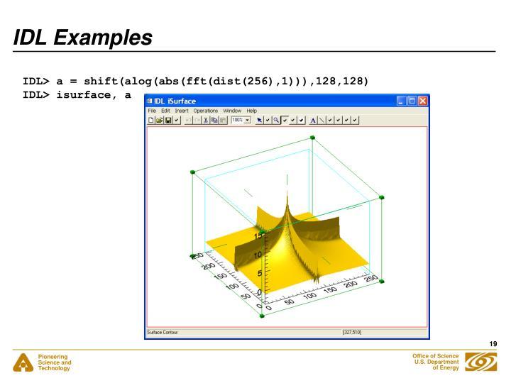 IDL Examples