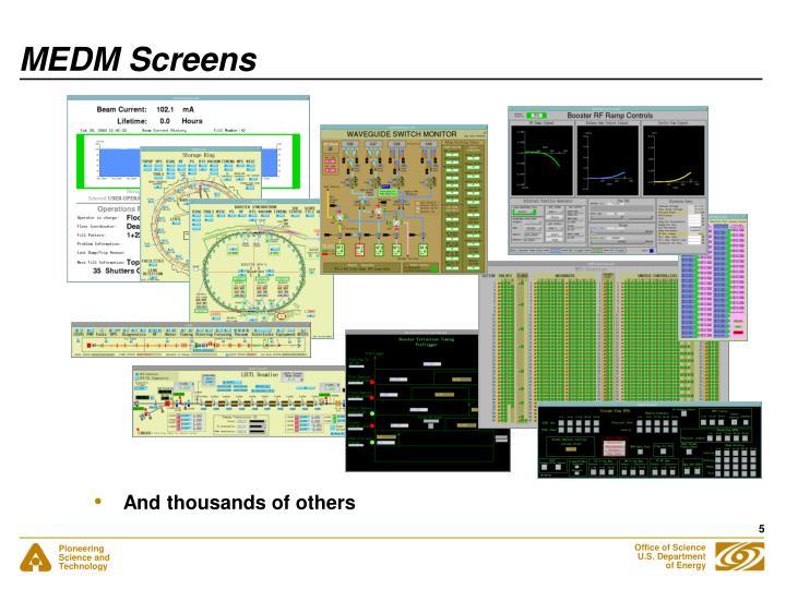 MEDM Screens