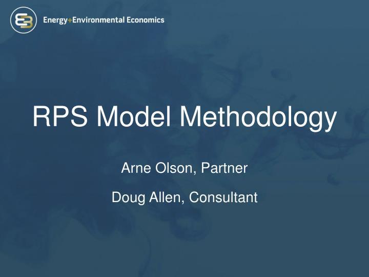 Rps model methodology