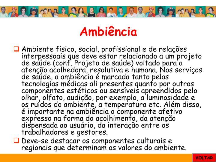 Ambiência