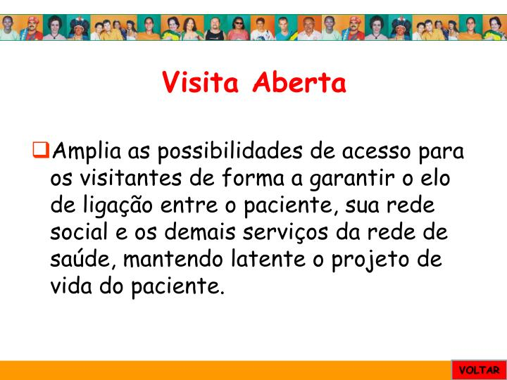 Visita Aberta