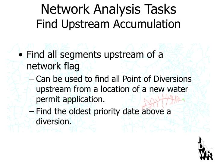 Network Analysis Tasks