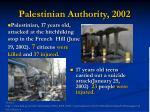palestinian authority 2002