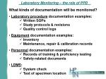 laboratory monitoring the role of ppd2