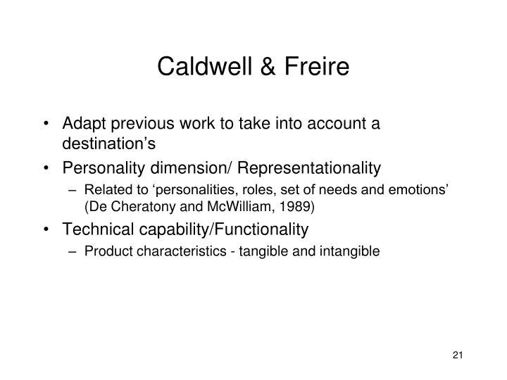 Caldwell & Freire