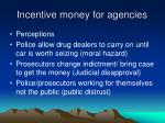 incentive money for agencies2