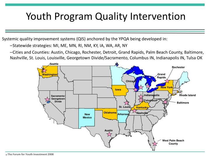 Youth Program Quality Intervention