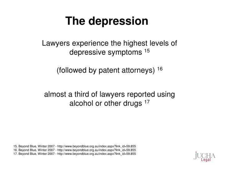 The depression