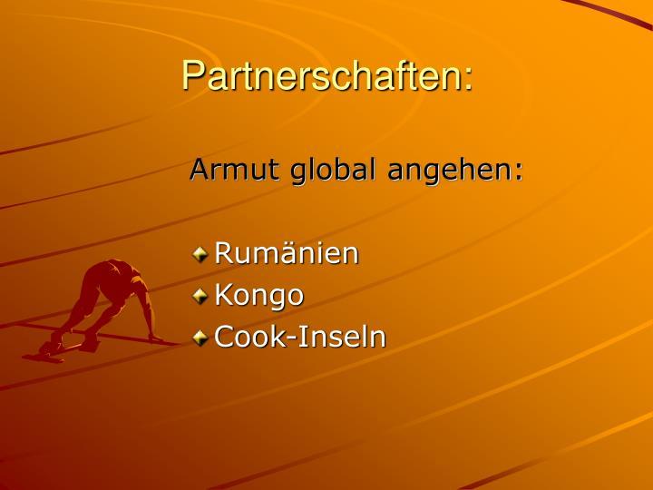 Partnerschaften: