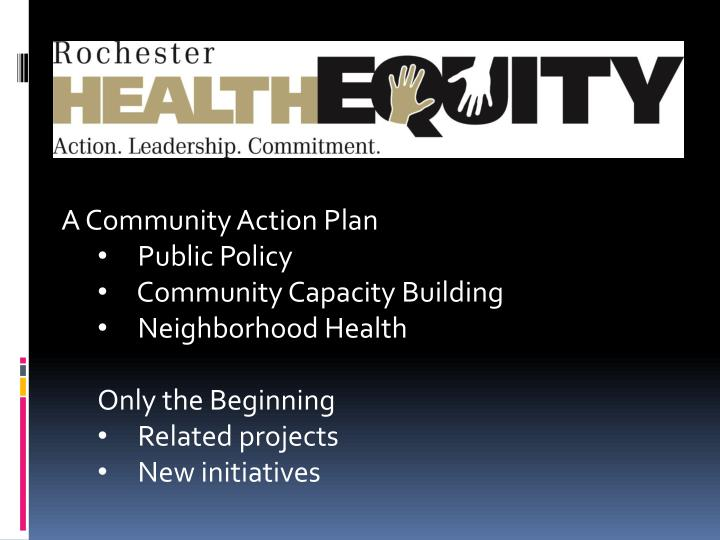 A Community Action Plan