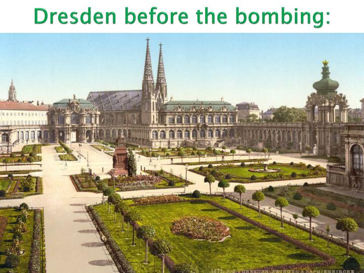 Dresden before the bombing: