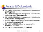 related iso standards