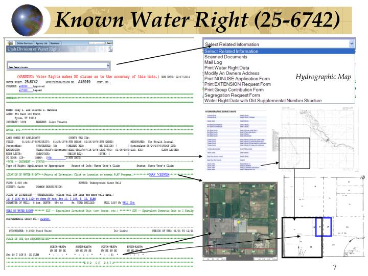 Known Water Right (25-6742)