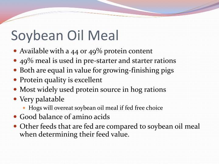 Soybean Oil Meal