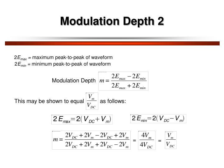 Modulation Depth 2