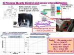3 process quality control and sensor characterization