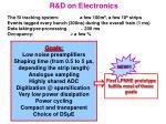 r d on electronics