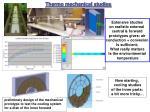 thermo mechanical studies