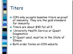 titers1