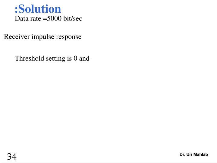 :Solution