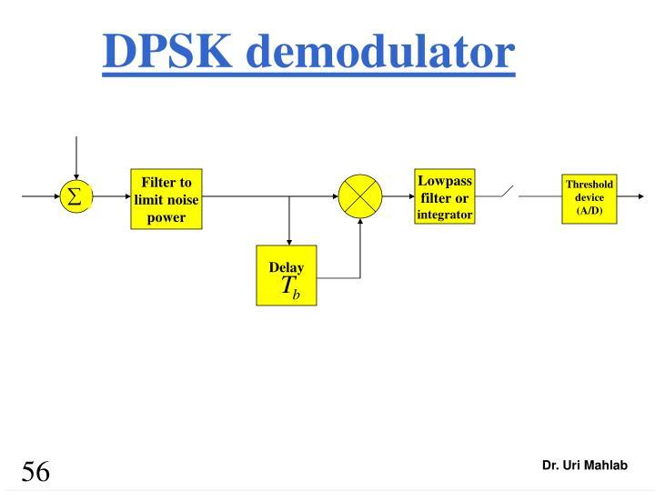 DPSK demodulator